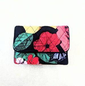 New Vera Bradley floral print wallet